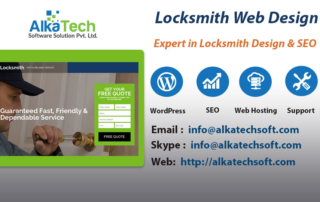 Locksmith Web Design